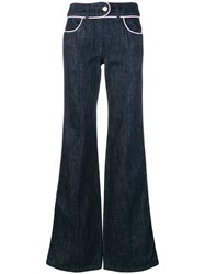 Moschino Flared Jeans Blue