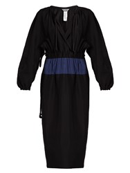 Sportmax Pacca Dress Black Blue