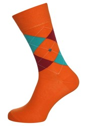 Burlington King Socks Orange