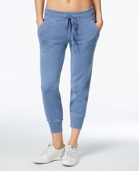 Calvin Klein Performance Soft Cropped Sweatpants Bijou Blue
