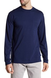 Tommy Bahama Bali Skyline Long Sleeve Pocket Tee Blue