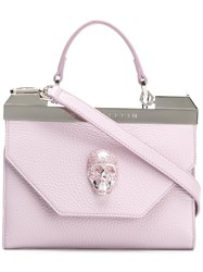 Philipp Plein Purple Clutch Pink Purple