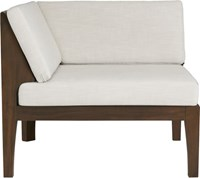 Cb2 Elba Corner Chair