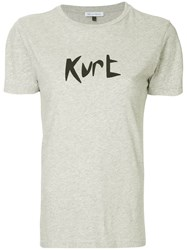 Bella Freud Kurt T Shirt Grey