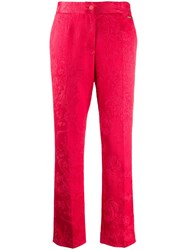 Blumarine Textured Floral Patterned Trousers 60