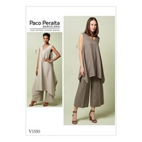 Vogue Women's Tunic Top And Trousers Sewing Pattern 1550