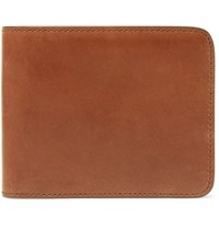 James Purdey And Sons Leather Billfold Wallet Brown