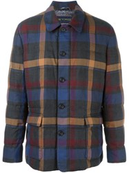 Etro Checked Jacket Multicolour