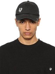 Vetements Anarchy Embroidered Cap W Ring Black