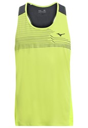Mizuno Cooltouch Top Safety Yellow Neon Yellow