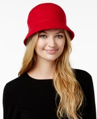 August Hats Melton Love Cloche Red
