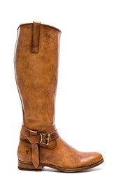 Frye Melissa Knotted Tall Boot Tan
