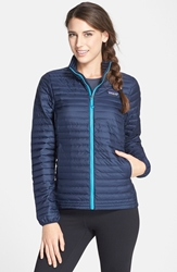 Patagonia Lightweight Down Jacket Navy Blue