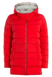 Colmar Down Jacket With Hood Red