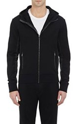 Ralph Lauren Purple Label Zip Front Hoodie Black