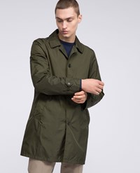 Aspesi Raincoat Limone Green