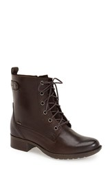 Women's Cobb Hill 'Carrie' Waterproof Boot Brown Leather