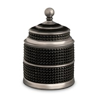 L'objet Bibliotheque Candle Black And Platinum