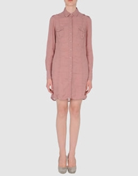 Robert Friedman Short Dresses Pastel Pink
