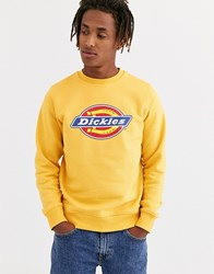 Dickies Pittsburgh Sweat With Large Logo In Yellow
