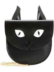Muveil Cat Coin Purse Black