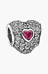 Pandora Design Women's Pandora 'In My Heart' Pave Heart Charm