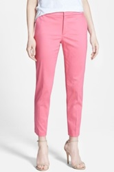 Nydj Stretch Skinny Ankle Pants Regular And Petite Pink