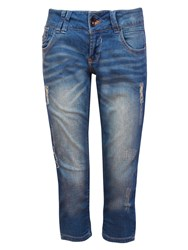 Garcia Women Washed Out Jeans Blue