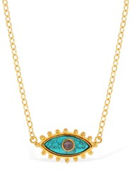 Sylvia Toledano Third Eye Necklace Turquoise