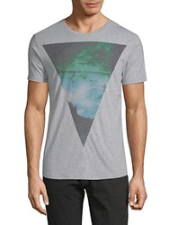 Civil Society Printed Short Sleeve Tee Heather Grey