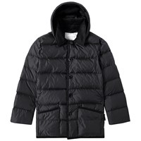 Mackintosh Corduroy Collar Down Jacket Black