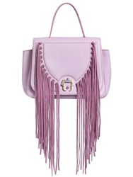 Paula Cademartori Abela Fringed Leather Shoulder Bag