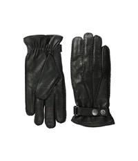Hestra Jake Grey Dress Gloves Gray