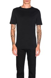 Helmut Lang Jersey Short Sleeve Tee In Black
