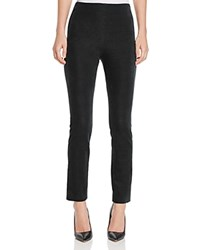 Theory Navalene Stretch Velvet Pants Dark Billiard