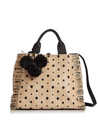 Deux Lux Dottie Tote Black Dot Gold