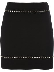 Givenchy Stud Embellished Mini Skirt Black