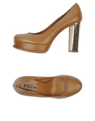 Studio Pollini Pumps Camel