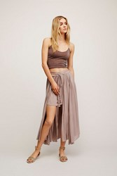 Endless Summer Womens Mad About You Midi Skirt