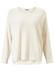 Marella Doga Silk Front Top White