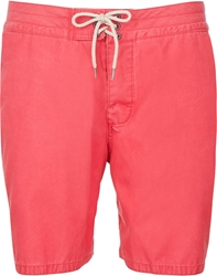 Faherty Classic Board Shorts Red