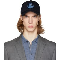 Paul Smith Ps By Navy Dino Baseball Cap