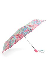 Lilly Pulitzerr Pulitzer Floral Print Telescoping Umbrella