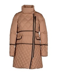 Henry Cotton's Down Jackets Camel