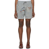 Telfar Grey Cut In Tour Sweat Shorts