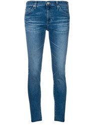 Ag Jeans Cropped Blue