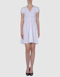 North Sails Dresses Short Dresses Women White