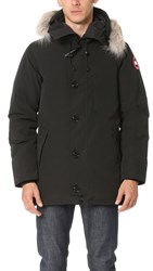Canada Goose Chateau Parka With Fur Black