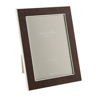 Addison Ross Coffee Faux Snake Photo Frame 5X7