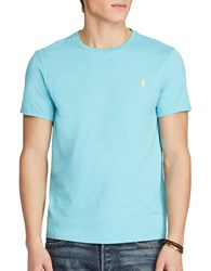 Polo Ralph Lauren Solid Crewneck Tee True Aqua